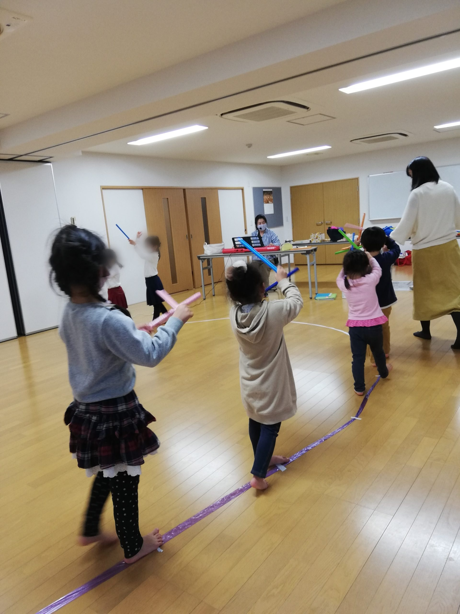 リトミック教室写真