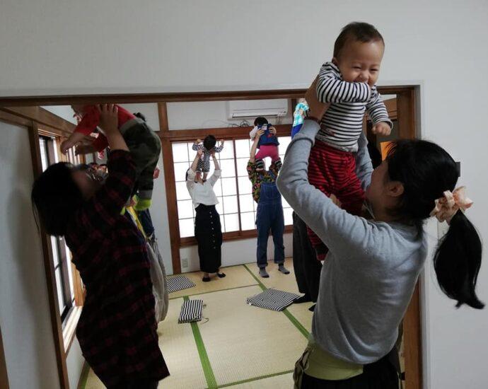 稲毛区リトミック教室風景